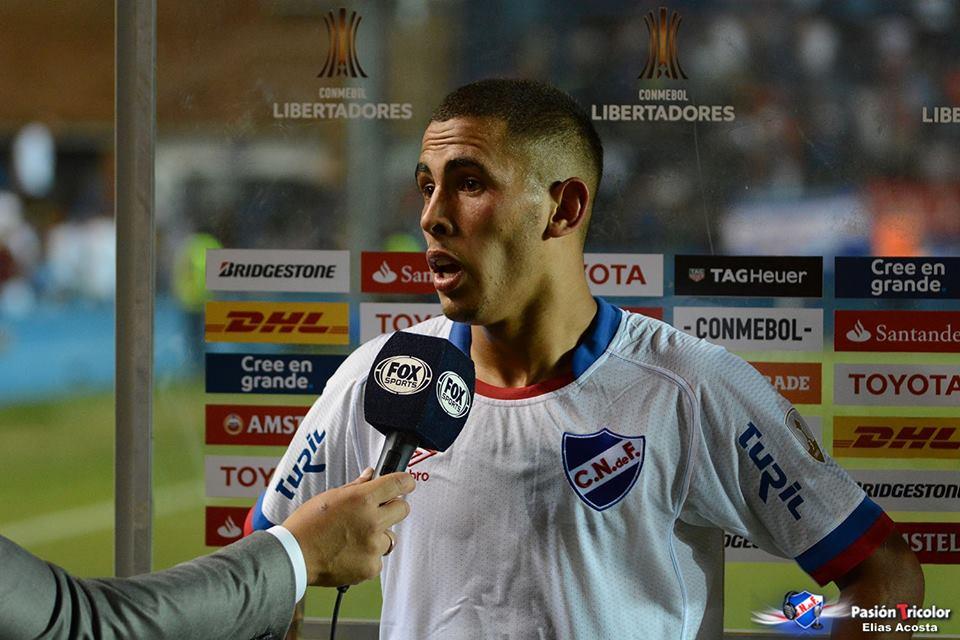 """Christian Oliva: """"Es un orgullo jugar con el Parque lleno"""""""