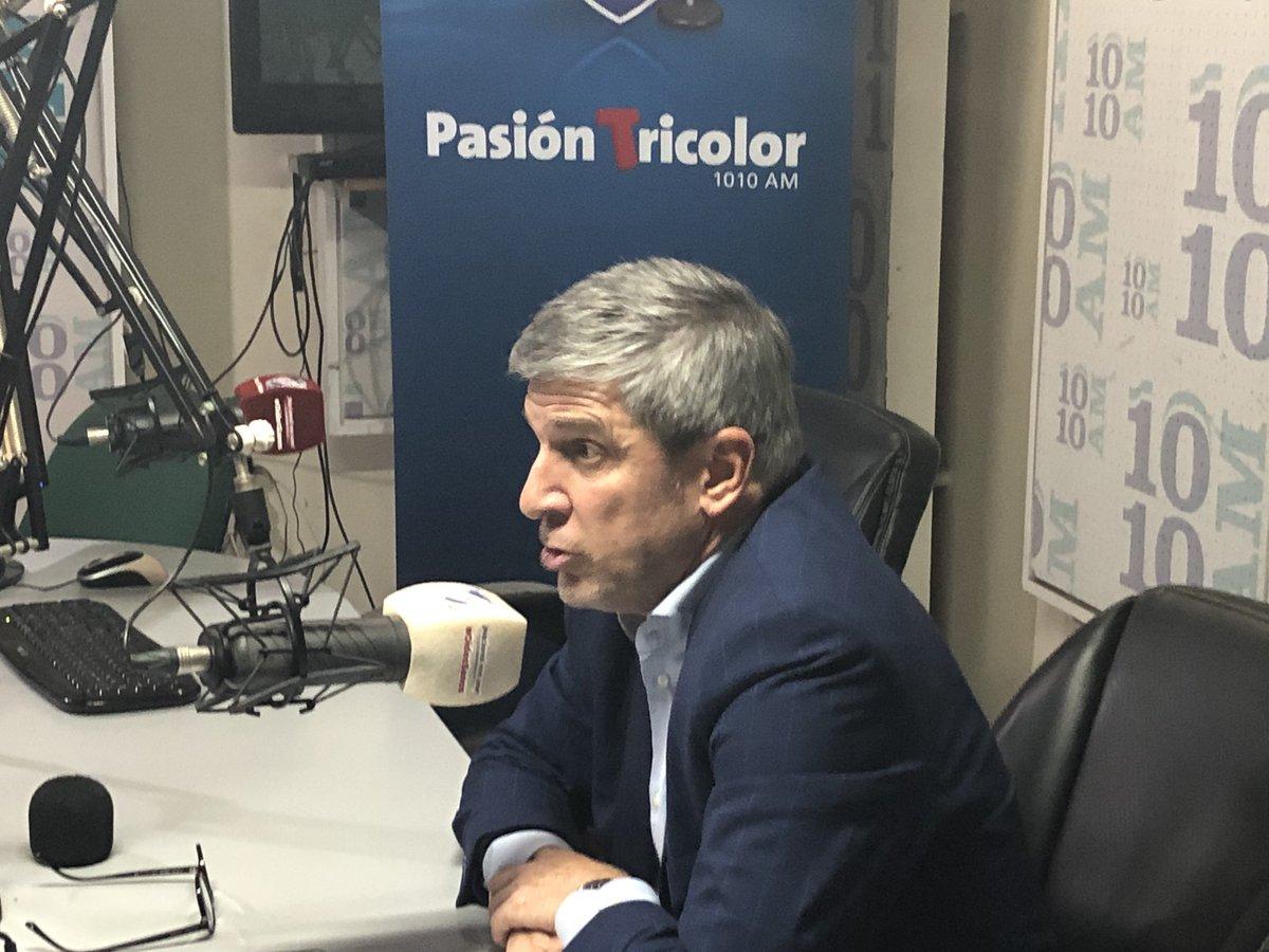 """Balbi: """"Compromiso Nacional 1899 es el mejor equipo"""""""