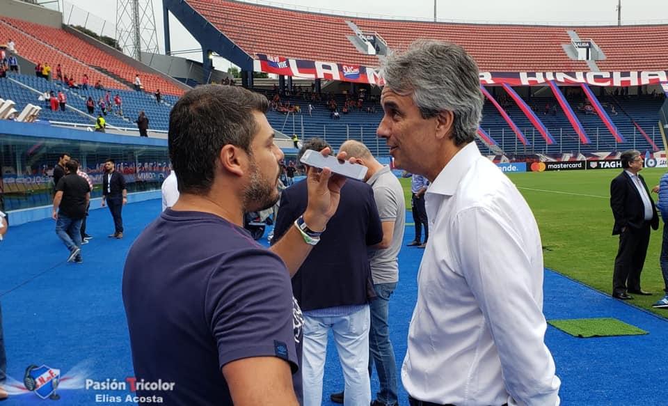"""""""Tuvimos una reunión agradable con el Pte. de CONMEBOL"""""""