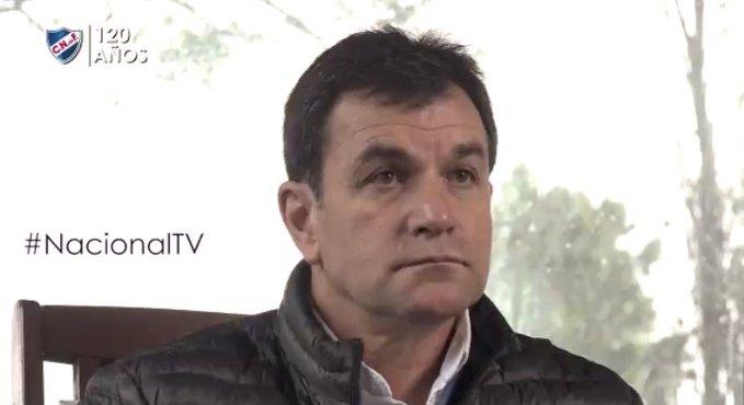 """Giordano y la """"Ciudad Deportiva"""" de Nacional"""