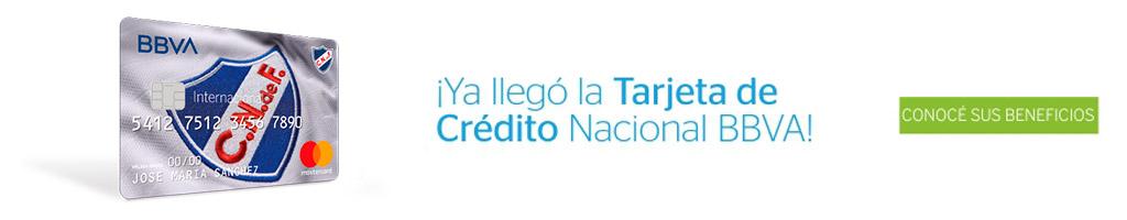 Llegó la Tarjeta de Crédita Nacional BBVA