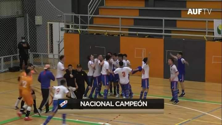 Futsal: Nacional campeón en Sub-20