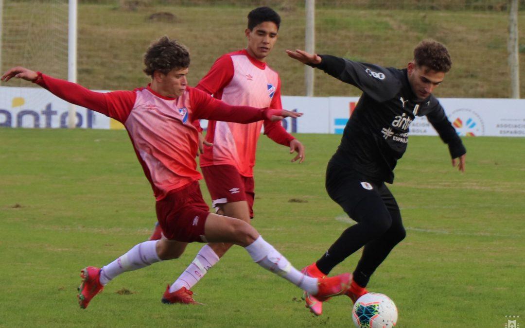 La Tercera venció 1-0 a Uruguay Sub-20