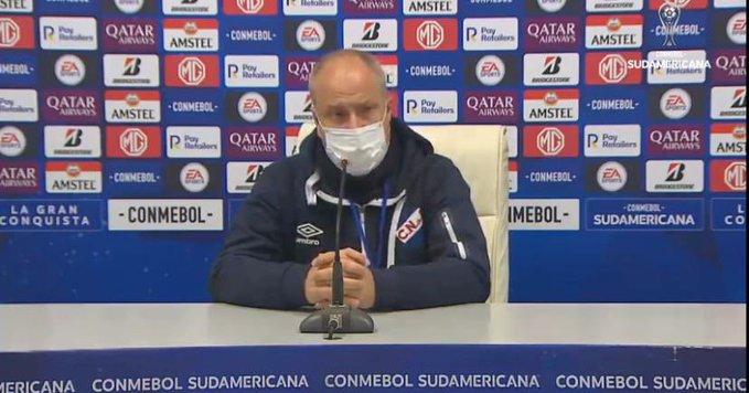 """Cappuccio: """"No jugamos un buen partido"""""""